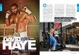 David Haye article for ultra-FIT magazine