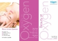 Beauty at Oxygen A4 3-fold leaflet