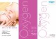 Beauty at Oxygen A4 3-fold leaflet