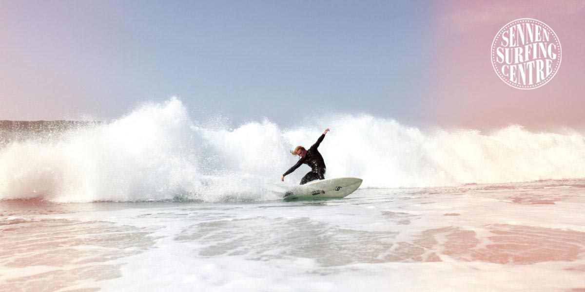 Website development and booking system for Sennen Surfing Centre