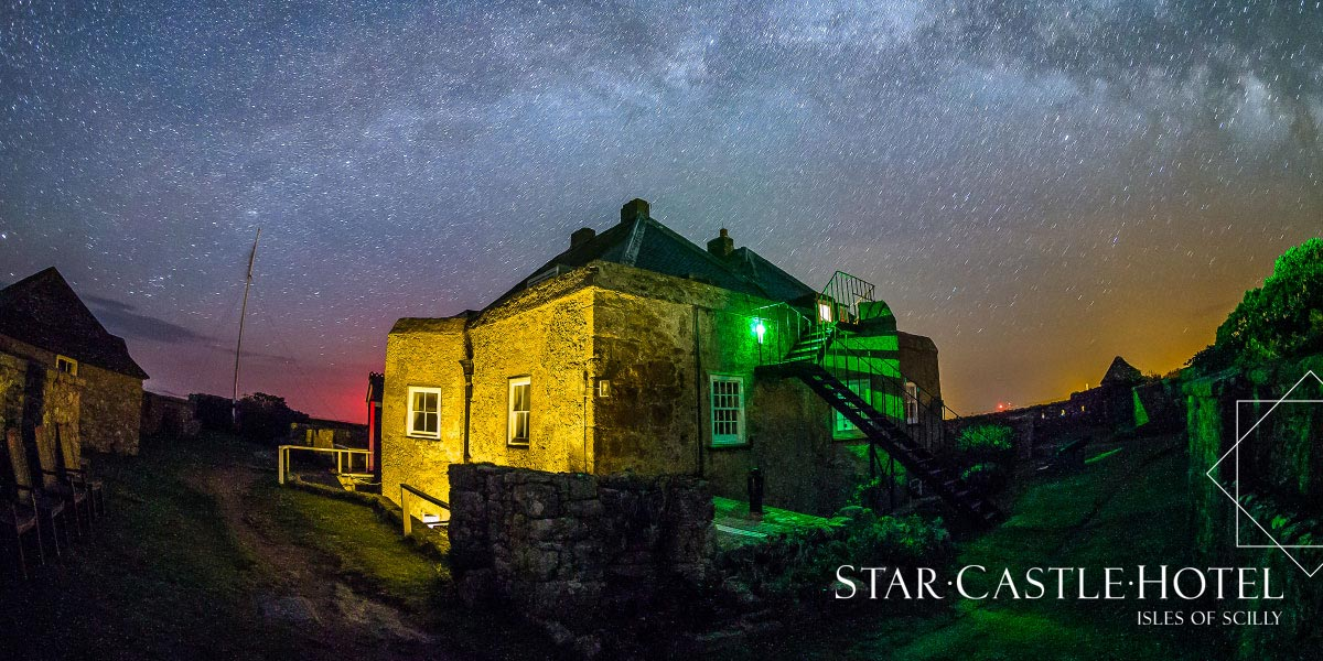 Print design for The Star Castle Hotel Isles of Scilly