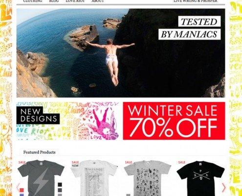 Online Shop Makeover by t2design